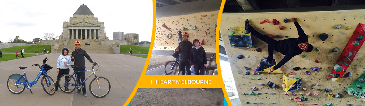 Cycling Around Melbourne